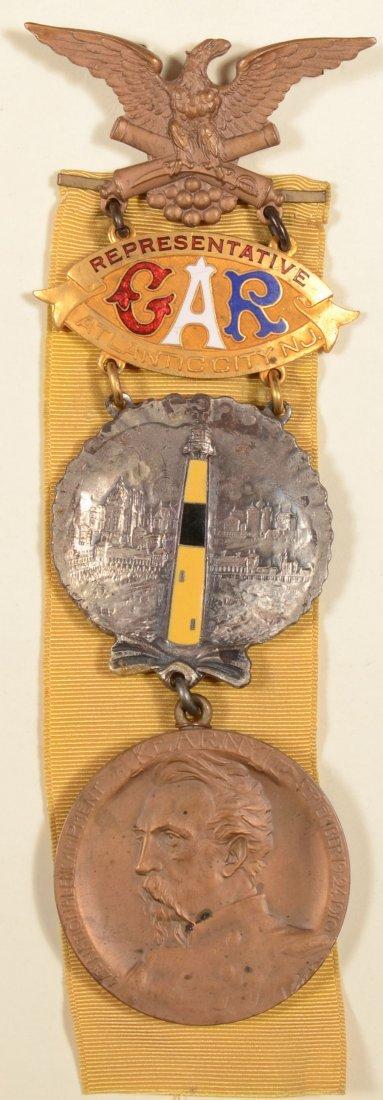 23: GAR 44th National Encampment Representative medal d