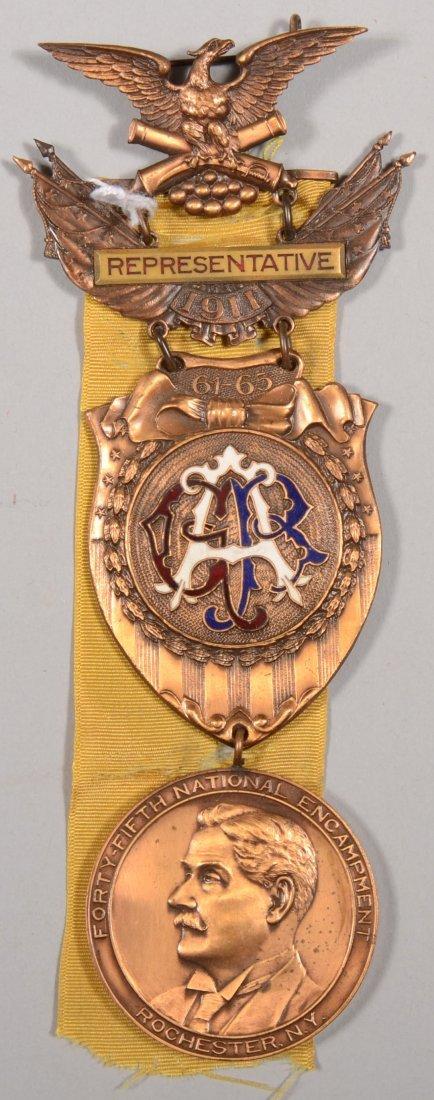 24: GAR 45th National Encampment Representative medal d