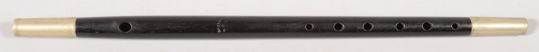 "153: Rosewood fife maker marked ""CROSBY"", 17-1/8"" long"