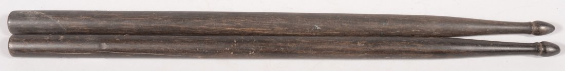 "156: Pair of rosewood drum sticks 16-1/4"" long. Fine."