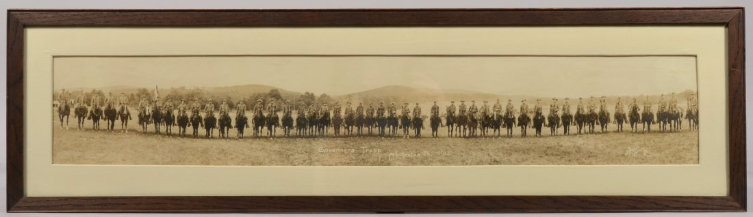 209: PA First Regiment of Cavalry  grouping including a
