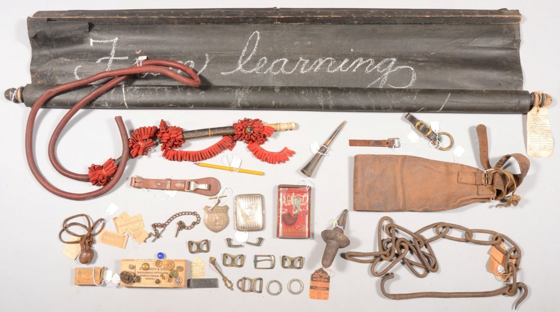 212: Lot of various 19th and early 20th century items i