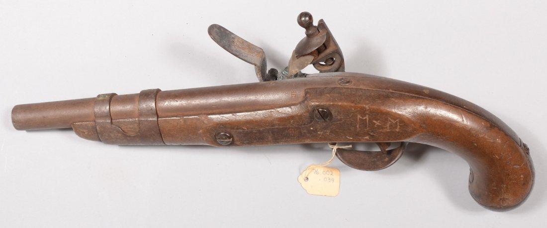 230: US Model 1816 flintlock pistol by Simeon North hav - 4