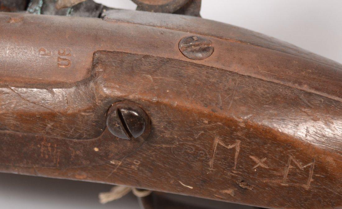 230: US Model 1816 flintlock pistol by Simeon North hav - 5