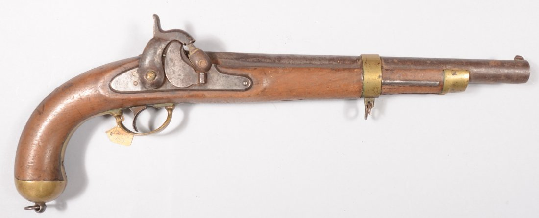 234: US Model 1855 percussion pistol by Springfield Arm