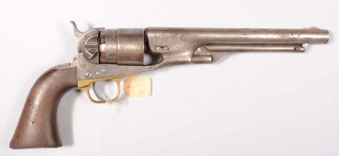 "236: Colt Model 1860 Army revolver, 44 caliber 8"" barre"