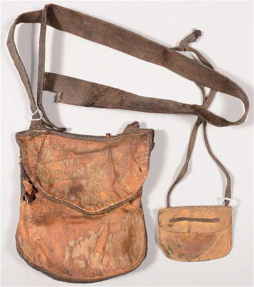 Leather Possibles Bag Fur Co