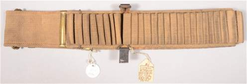 399 Identified Spanish American War era double row wov