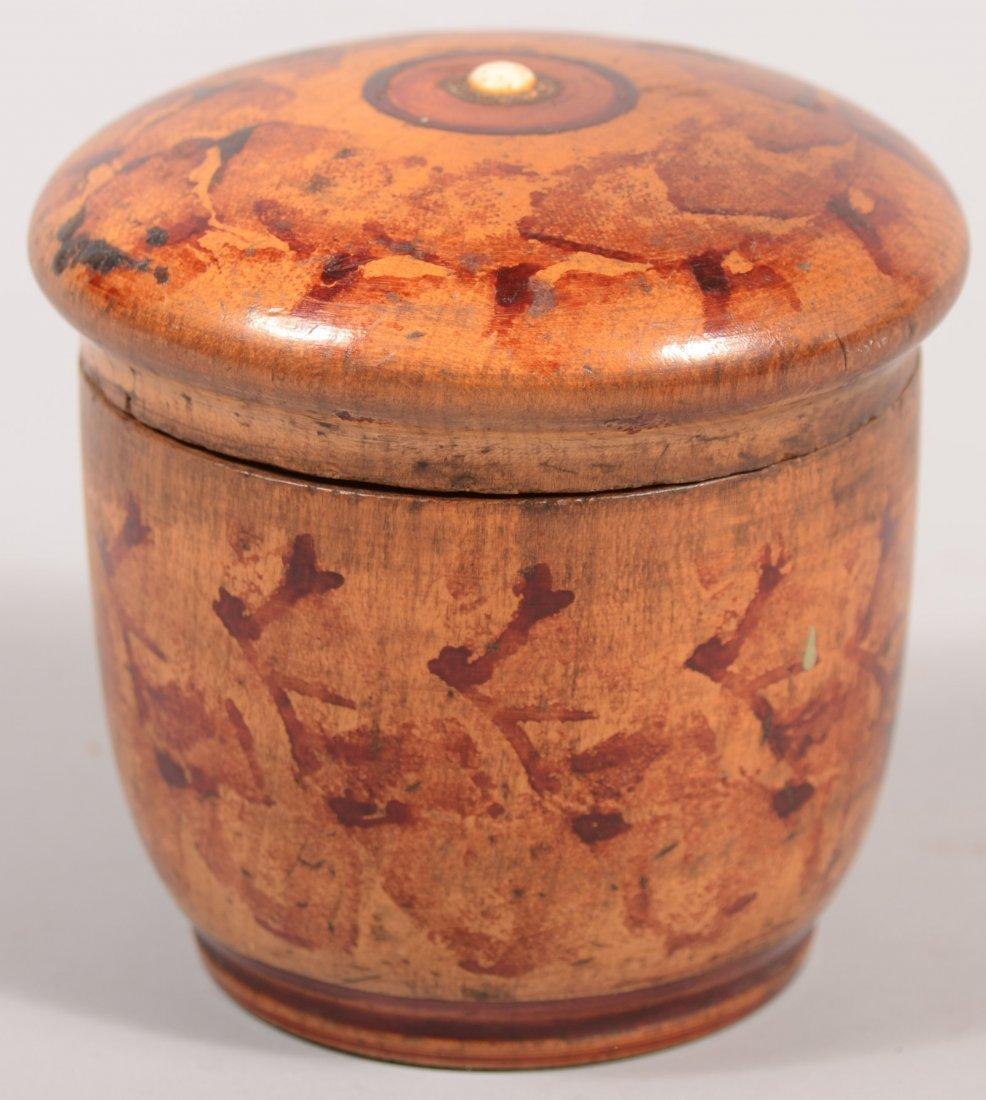 119: Pennsylvania 19th Century Turned Maple Treenware S