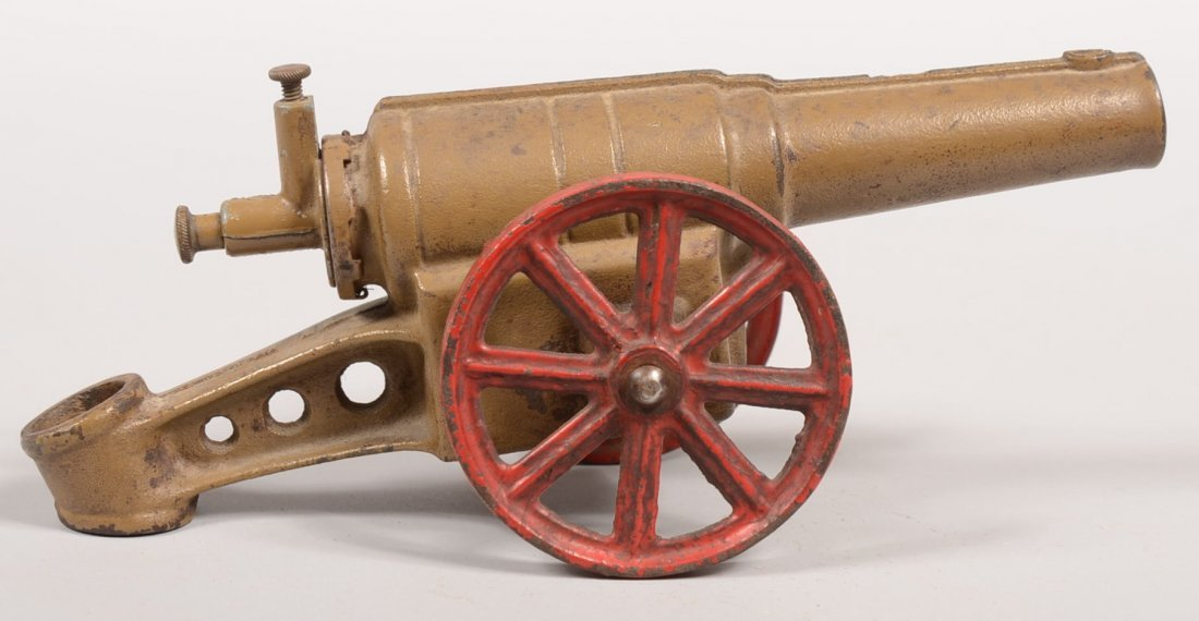 352: Cast Iron Carbide Toy Cannon. World War One style