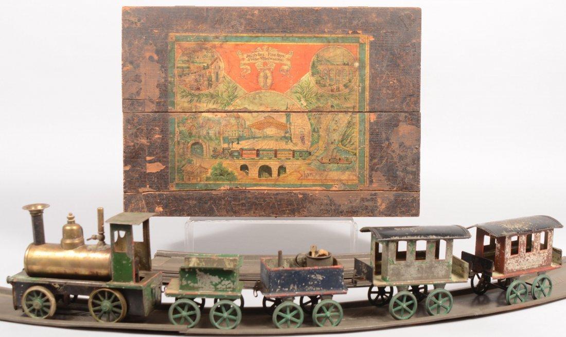 475: Georges Carette & Cie Original Boxed Steam Train S