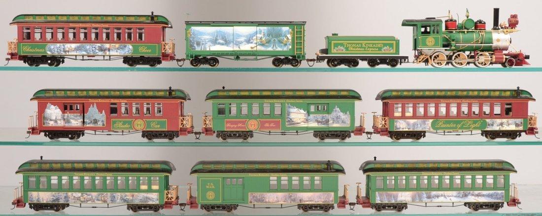 Thomas Kinkade Christmas Train Box Car: The Night Before Christmas by Hawthorne Village