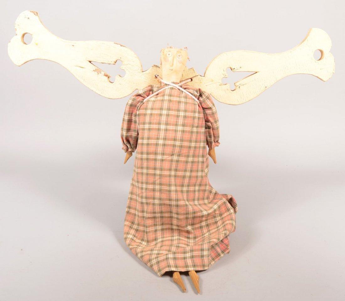 9: James Cramer Handmade Angel. A craftsman of Seven Ga