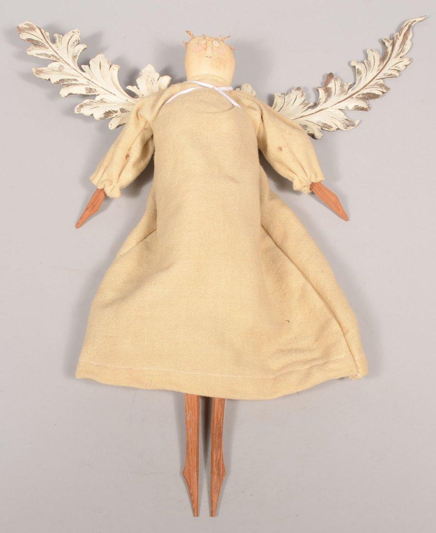 14: James Cramer Handmade Angel. A craftsman of Seven G