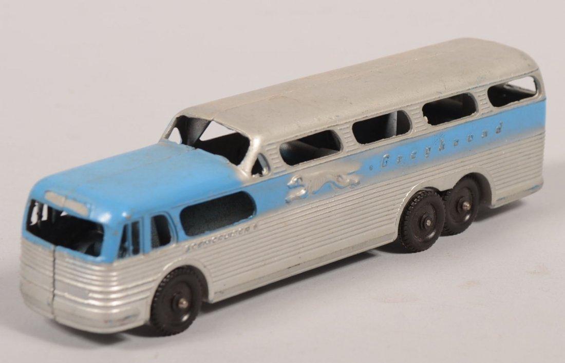 769: Tootsietoy Scenicruiser Greyhound Bus Toy. Blue an - 2