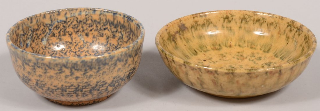 Two Left Handed Russell Henry Small Bowls. Both stonewa