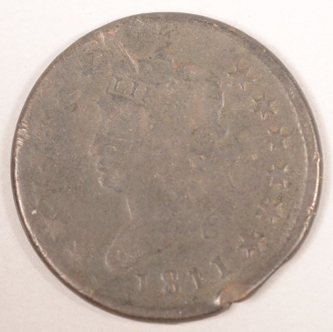 1811 LARGE CENT NORMAL DATE