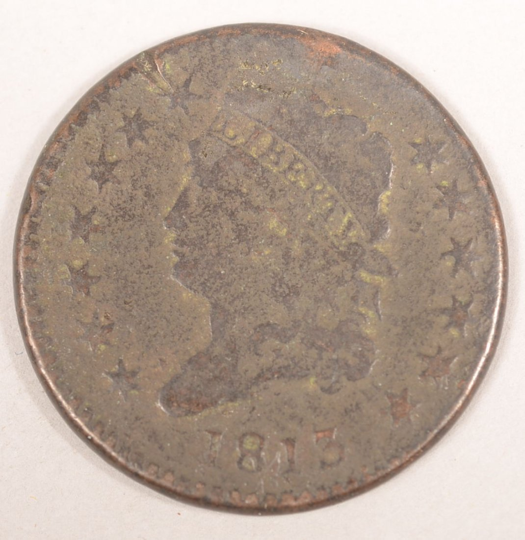 1813 NORMAL DATE LARGE CENT