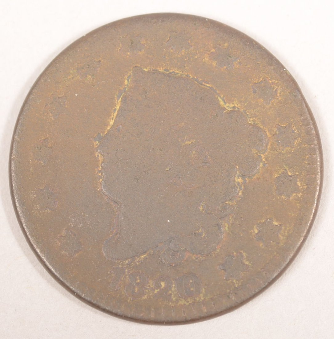 1820 LARGE CENT (LARGE DATE)