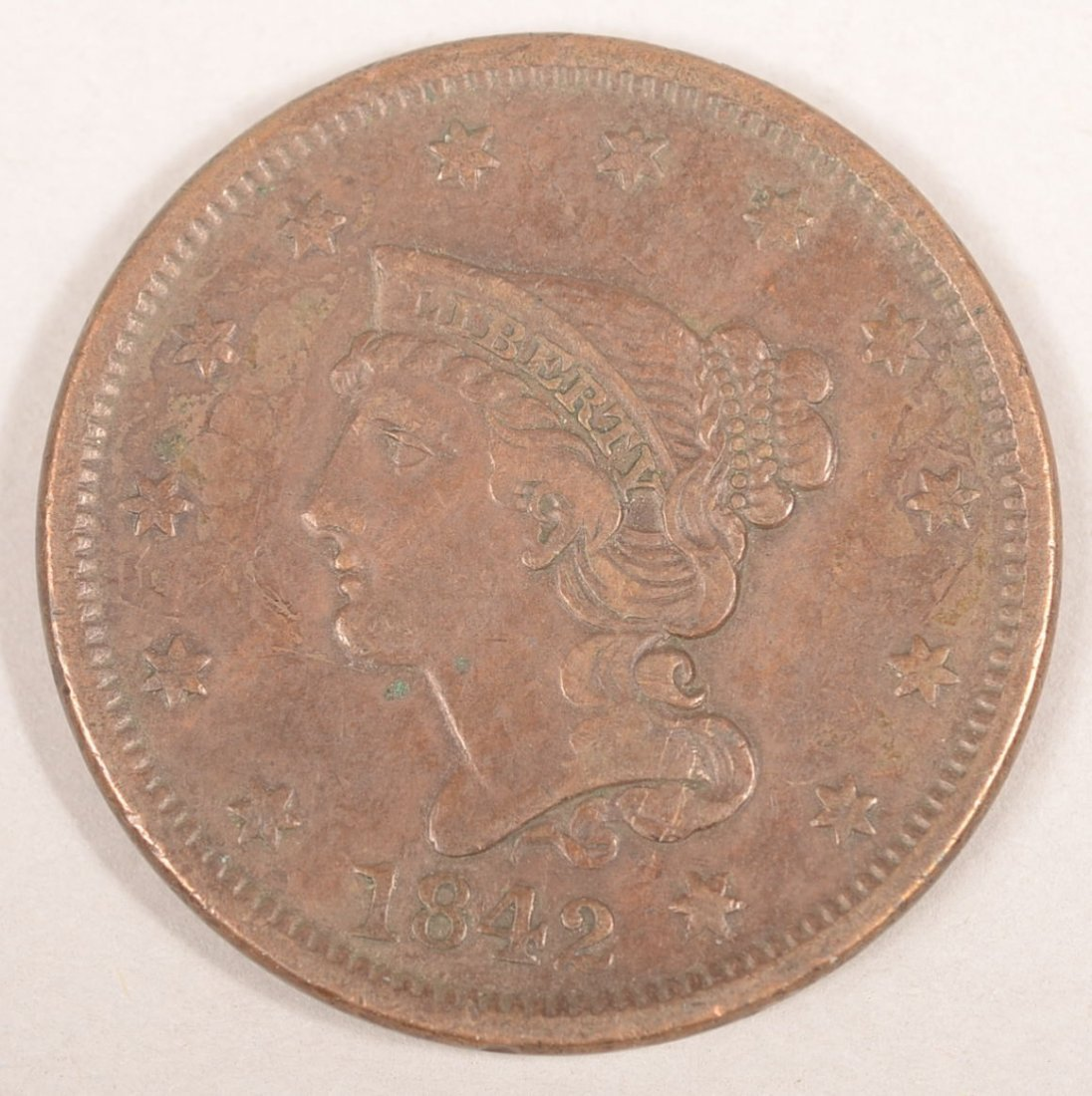 1842 LARGE CENT(LARGE DATE)