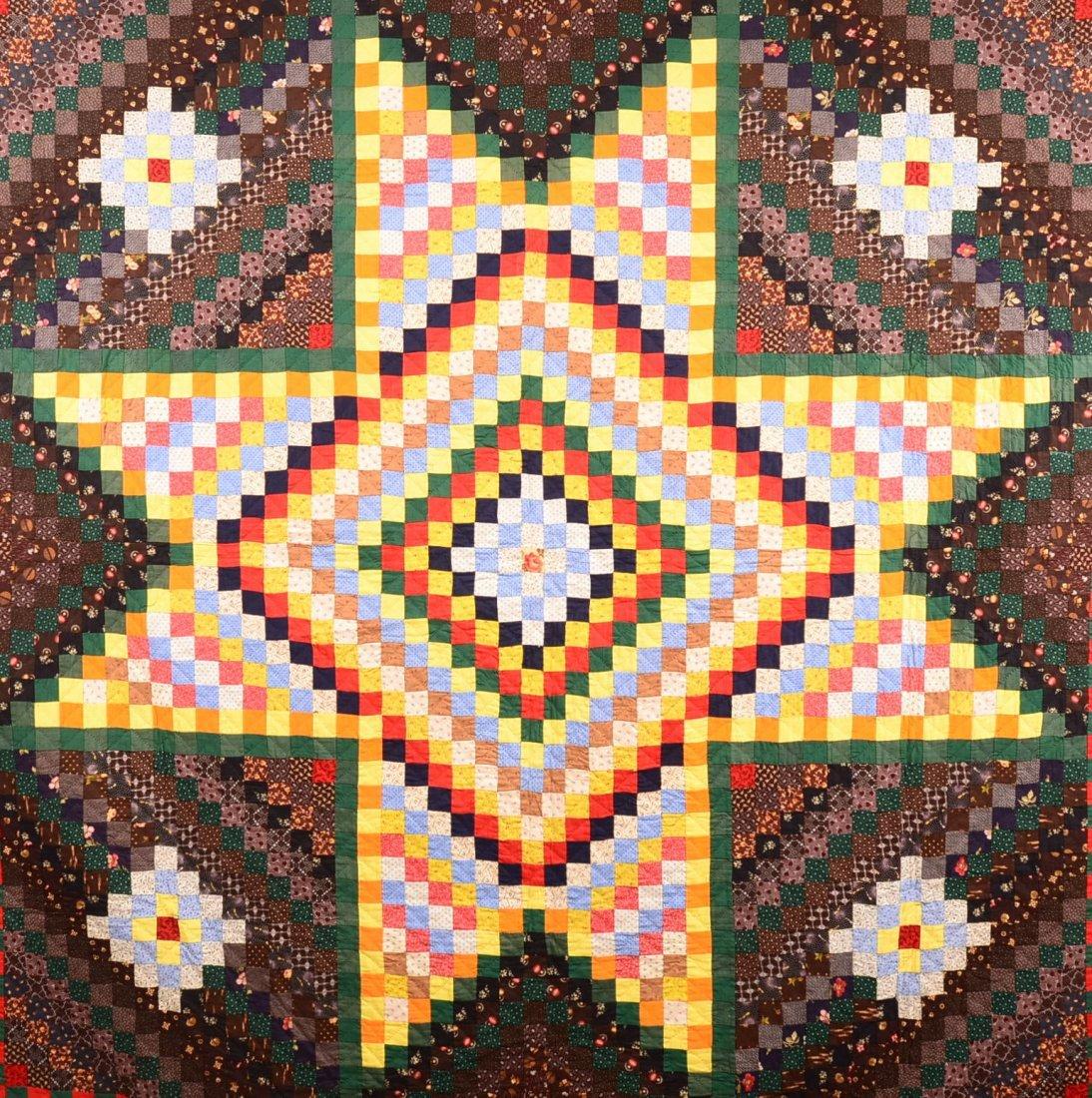 290. Pennsylvania Bowmansville Star Pattern Quilt. - 2