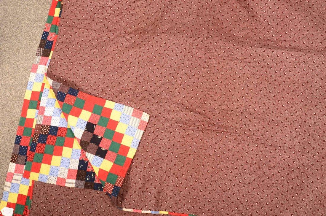 290. Pennsylvania Bowmansville Star Pattern Quilt. - 3