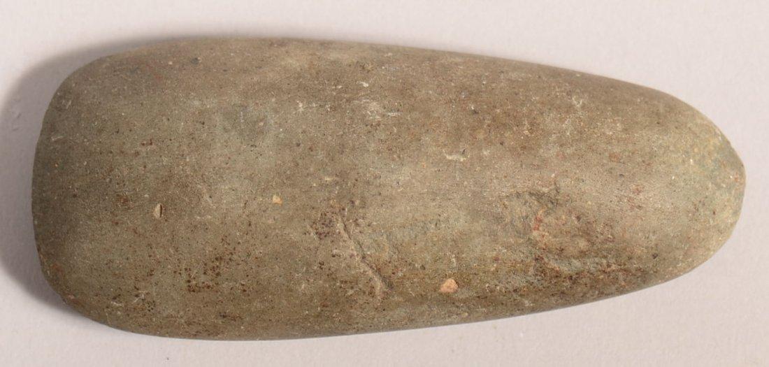 A fine, pre-historic stone adze blade of A-1