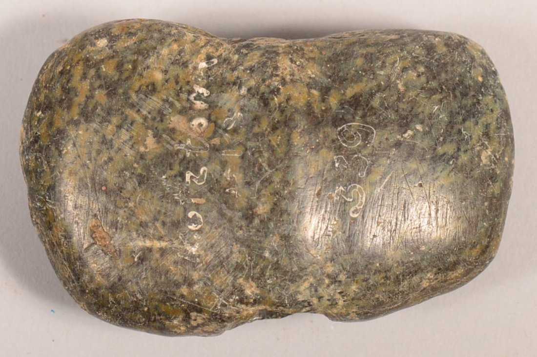 A pre-historic bannerstone from Berks Co. PA.