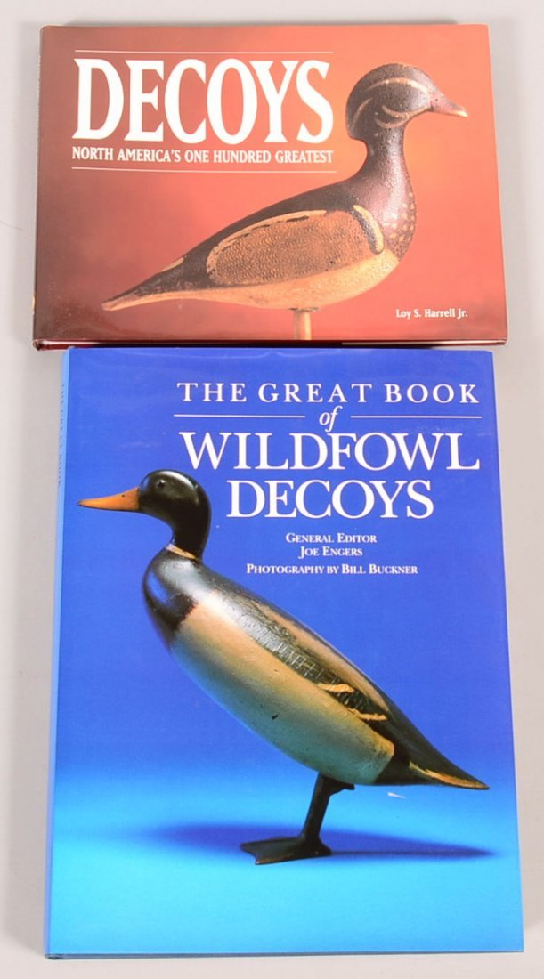 "Book lot of (2): ""The Great Book of Wildfowl Decoys"" by"
