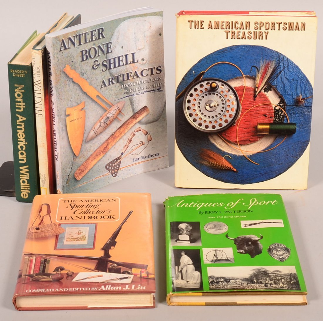 "Book lot of (6) sportsman's topics incl: ""The American"