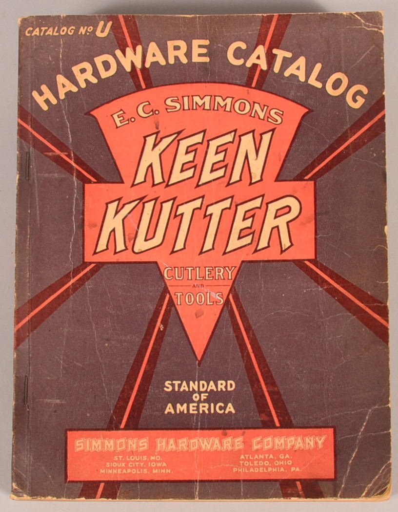 Simmons Hardware Company Keen Kutter Cutlery and Tool