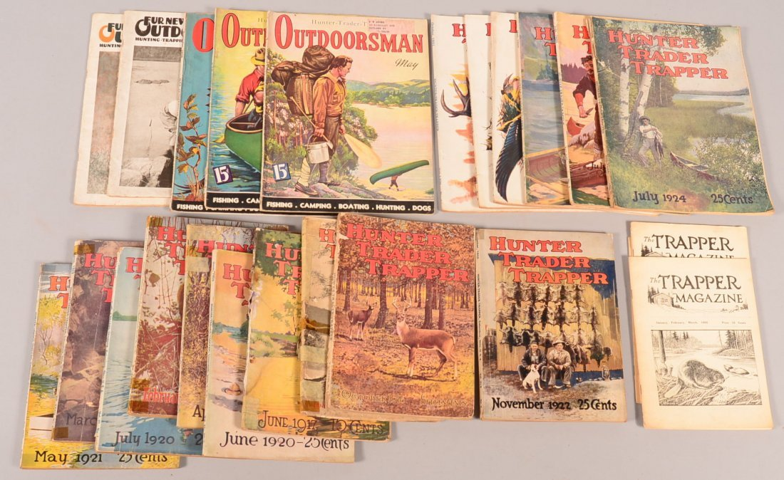Lot of (27) vintage sporting magazines: