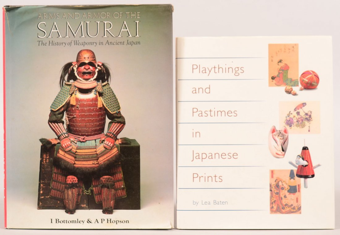 """Book lot of (2): """"Arms and Armor of the Samurai"""" and"""