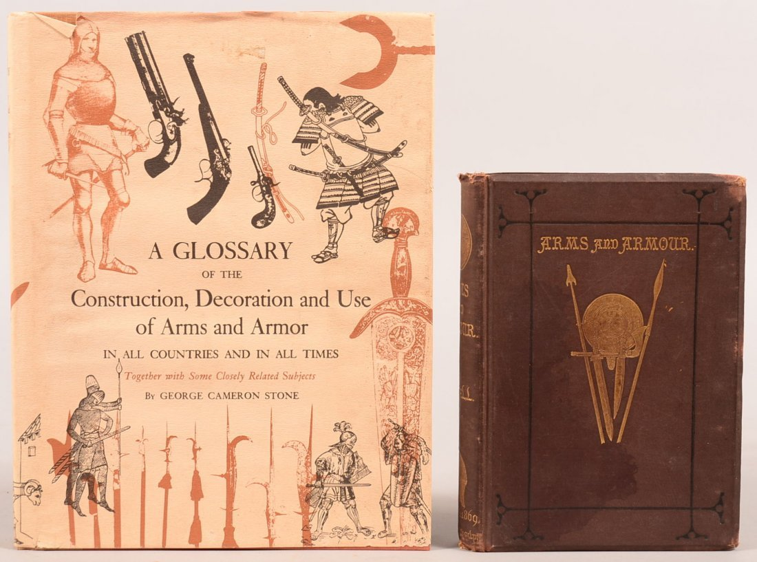 """Book lot of (2): """"A Glossary of the Construction,"""