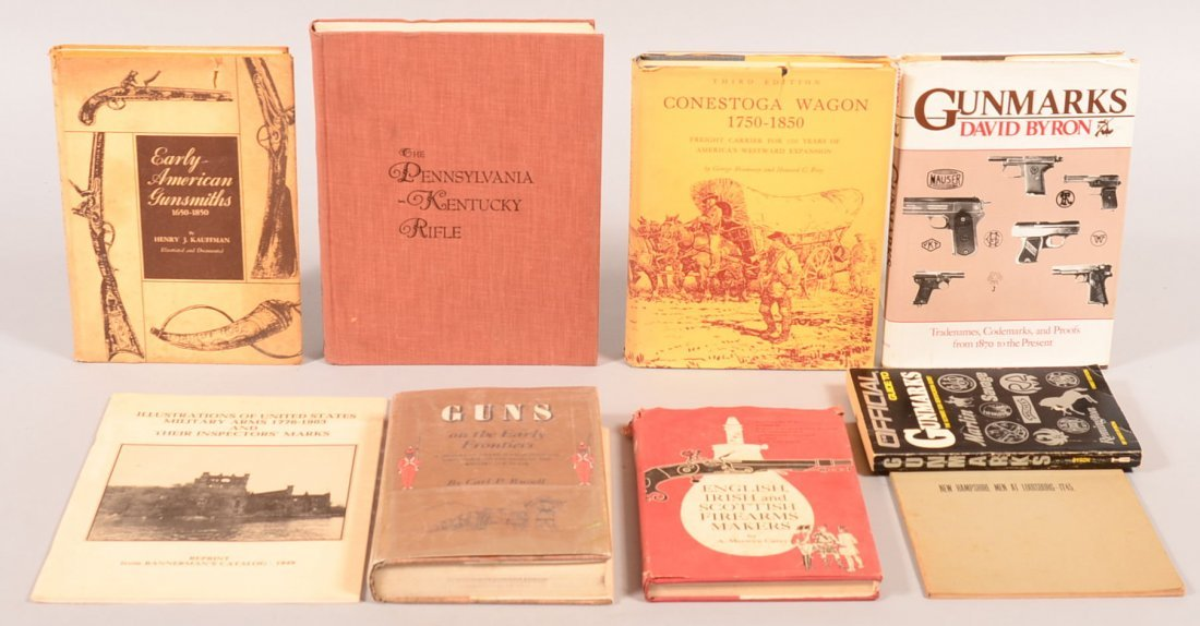 "Book lot of (9) including ""Conestoga Wagon 1750-1850"""