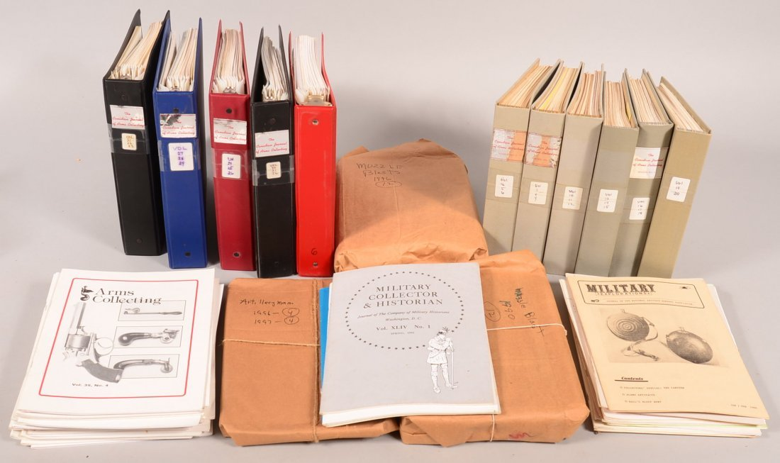"""Lot of gun periodicals including """"Canadian Journal of"""