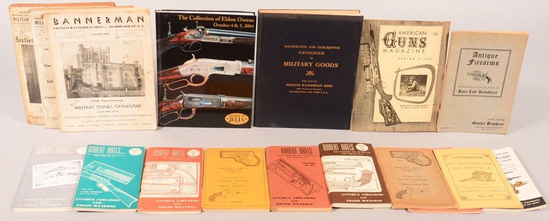 Lot of vintage gun dealer catalogs including (4)