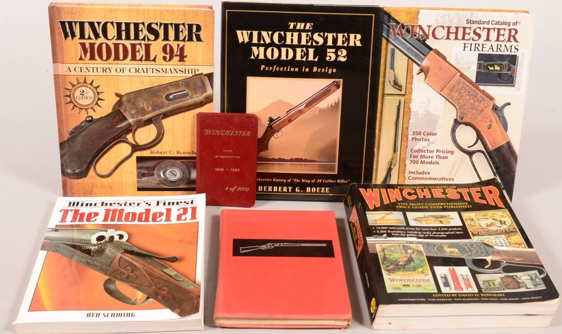 """Book lot of (7) Winchester including """"The Winchester"""