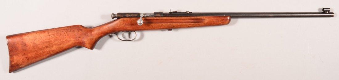 CR. Stevens Springfield model 52-A single shot 22 rf