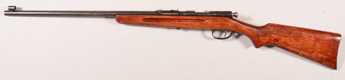 CR. Stevens Springfield model 52-A single shot 22 rf - 2