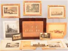 Lot of various Images and Prints. Lancaster County
