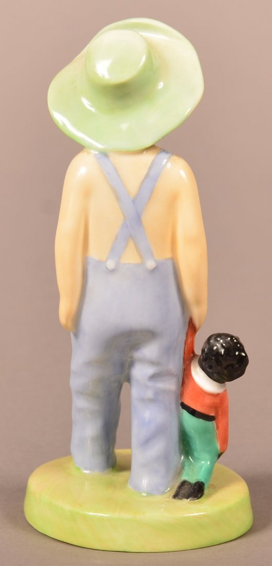 "Royal Doulton ""Golliwog"" Bone China Figurine. Rd. No. - 2"