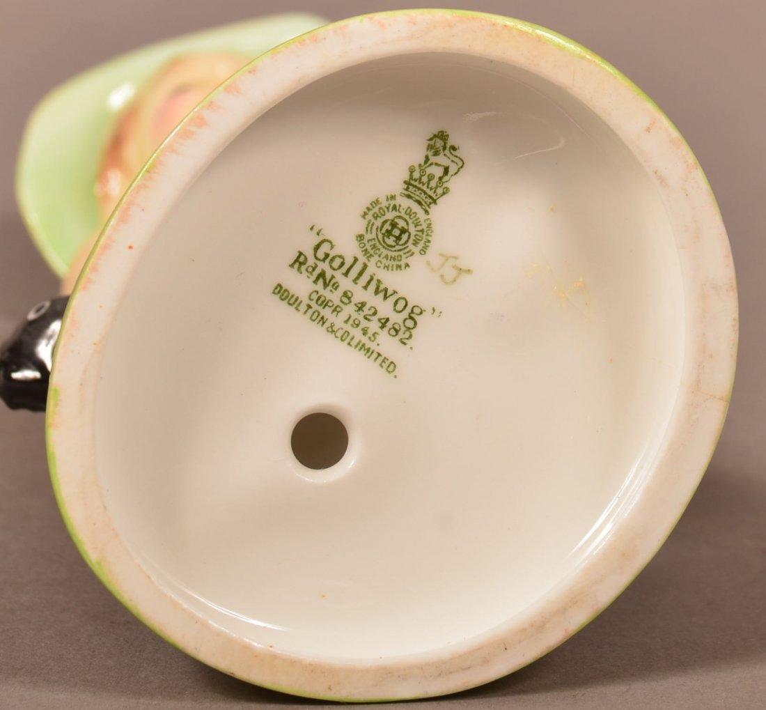 "Royal Doulton ""Golliwog"" Bone China Figurine. Rd. No. - 3"