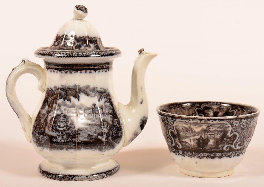 """Mulberry Transfer Ironstone China """"Washington Vase"""""""