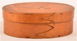 Shaker Oval Bentwood Band Box.