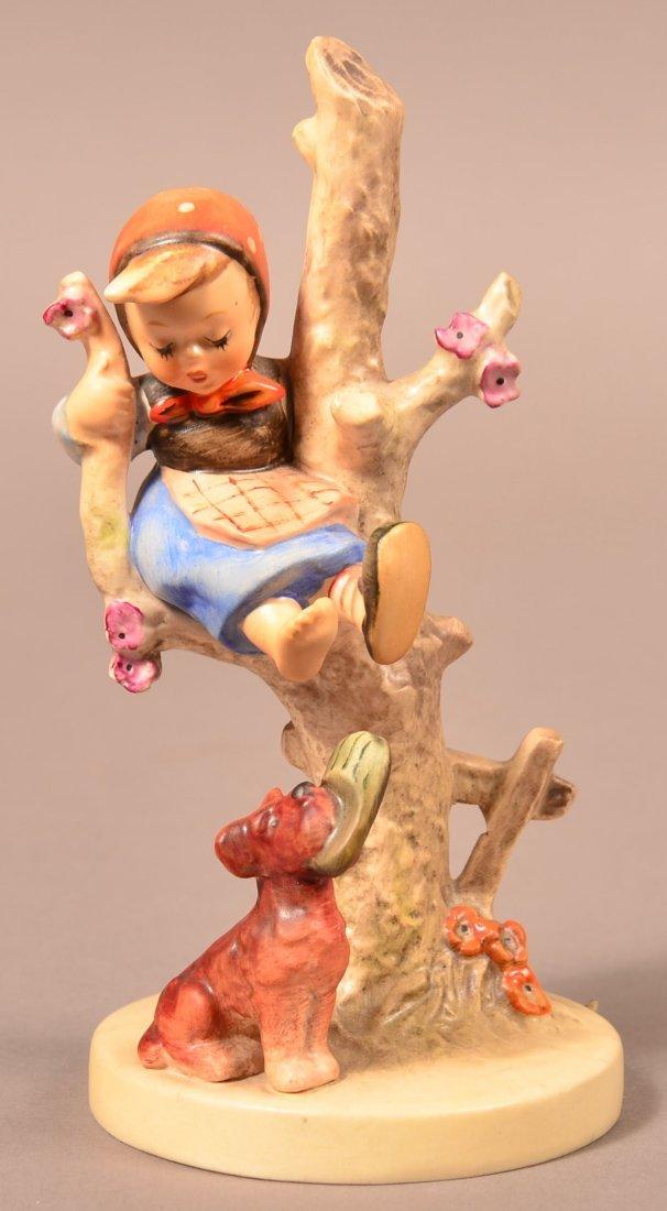 """Hummel Figurine """"Out of Danger""""."""