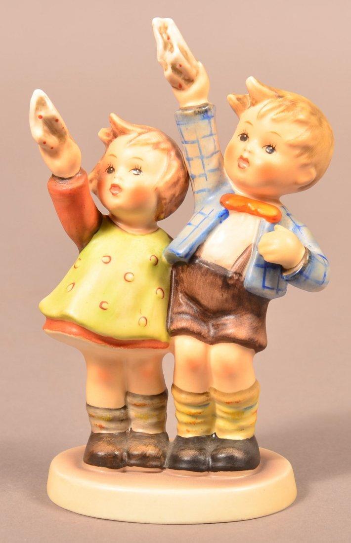 """Hummel Figurine """"Auf Wiedersehen""""."""