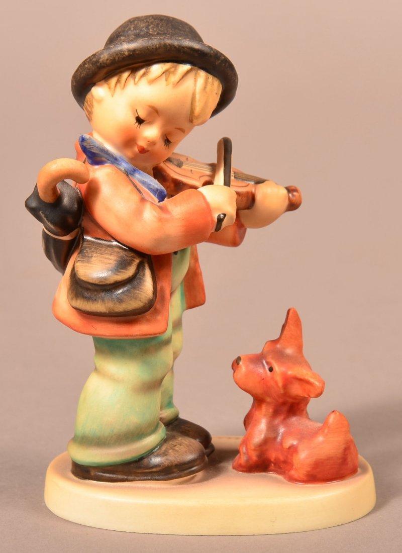 """Hummel Figurine """"Puppy Love""""."""