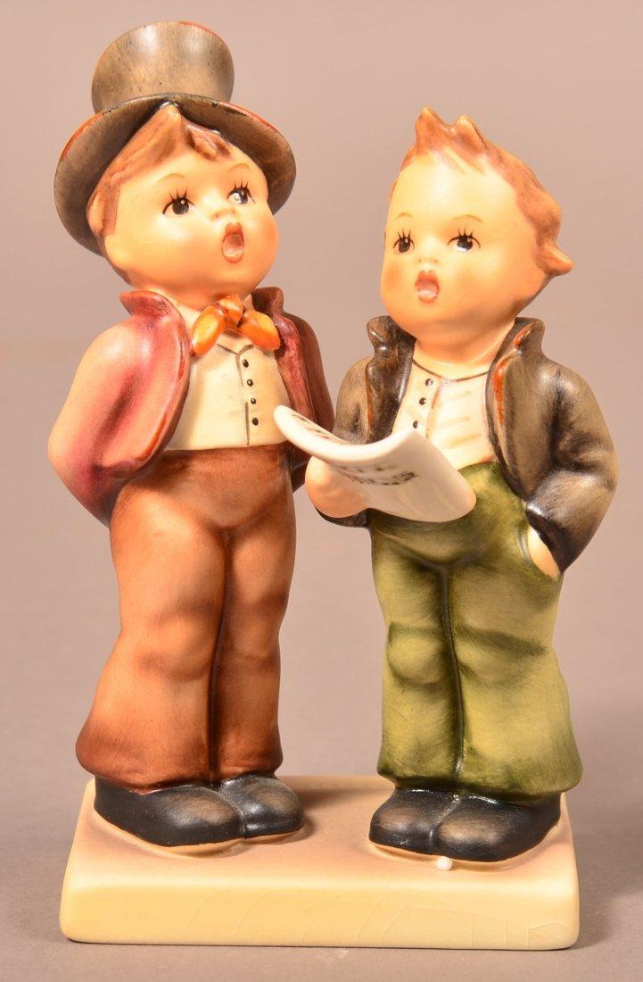 """Hummel Figurine """"Duet""""."""