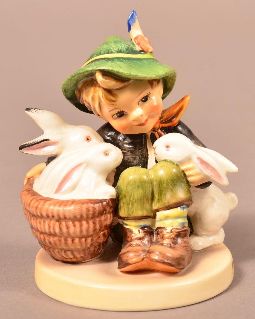 """Hummel Figurine """"Playmates""""."""